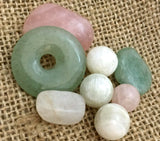 Fertility and Pregnancy Crystals Spiritual Diva Jewelry Rose Quartz Moonstone Green Aventurine