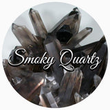 Smoky Quartz positive energy crystal spiritual Diva Jewelry