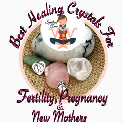 Best healing crystals fertility pregnancy new mothers Spiritual Diva Jewelry