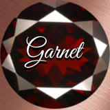 Garnet Spiritual Diva Jewelry August Eclipse
