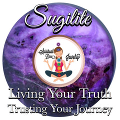 Sugilite Living Your Truth trusting your journey - Spiritual Diva Jewelry