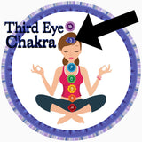 Third eye chakra Spiritual Diva Indigo Child