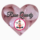 Rose Quartz love crystal - Spiritual Diva Jewelry