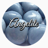 Angelite throat chakra crystal - spiritual diva