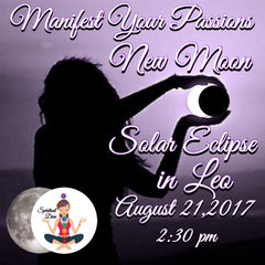 New Moon Solar Eclipse Leo August 21 2017 - Spiritual Diva Jewelry