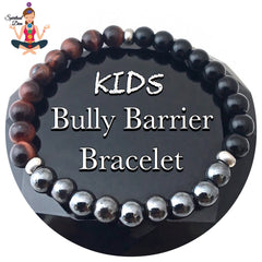 Kids Bully Barrier Healing Crystal Reiki Protection Gemstone Bracelet - Spiritual Diva Jewelry
