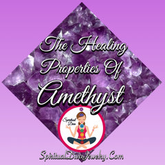 Healing Properties of Amethyst Griff Depression Stress Protection - Spiritual Diva
