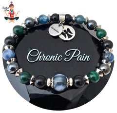 Chronic Pain Relief Healing Crystal Reiki Angel Gemstone Bracelet -Spiritual Diva Jewelry