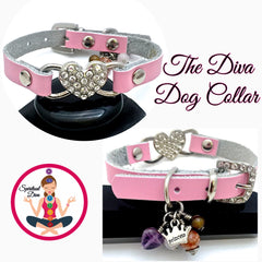 Spiritual Diva jewelry Diva Dog cat Pet Collar size Small