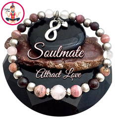 Spiritual Diva Jewelry Soulmate Attract Love Energy Healing Crystal Reiki Gemstone Bracelet