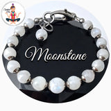 spiritual Diva Jewelry Moonstone Energy Healing Crystal Reiki Adjustable Gemstone Bracelet