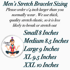 Men's Stretch Bracelet Sizing