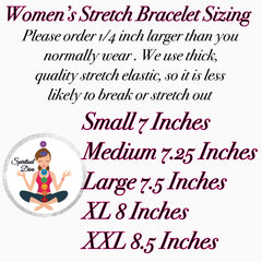 Women's Stretch Bracelet Sizing