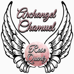 Archangel Chamuel Rose Quartz - Spiritual Diva Jewelry