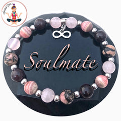 Soulmate Attract Love Energy Healing Crystal Reiki Gemstone Bracelet