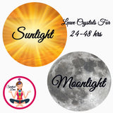 cleanse crystals in sun or moonlight SpiritualDiva
