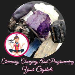Clearing charging programming crystals Spiritual Diva Jewelry