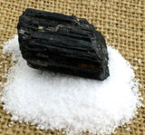 Black Tourmaline Kosher salt Spiritual Diva