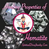 Hematite, A Healing Crystal For Pain, Protection, And Stress - Spiritual Diva Jewelry