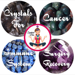 Healing Crystals Cancer Surgery Recovery Immune System Support - Spiritual Diva