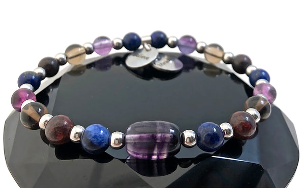 Cancer Immune System Recovery Healing Crystal Reiki Gemstone Bracelet - Spiritual Diva Jewelry