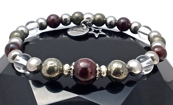 WISH Manifestation Healing Crystal Reiki Gemstone Angel Bracelet SALE - Spiritual Diva Jewelry