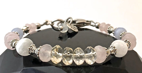 New Mother Baby Reiki Energy Healing Crystal Gemstone Bracelet SALE - Spiritual Diva Jewelry