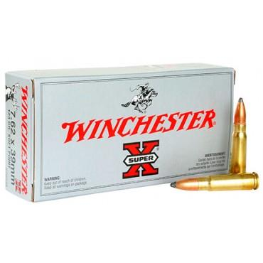 Winchester 7.62x39 123gr 20/Box Power Point TSE#24727