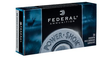 Federal Ammunition 222 Rem 50gr SP 20/Box Power Shok Rifle TSE#10996 The Shooting Edge Calgary Alberta