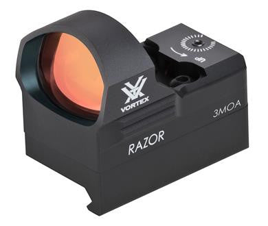 Vortex Razor Red Dot.  3 MOA Dot.