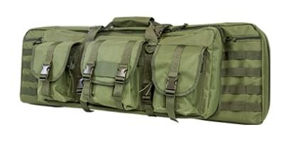 NCStar Double Carbine Case, Green  TSE 11646