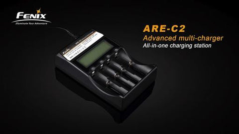 Fenix ARE-C2 18650 Charger.  TSE # 11773