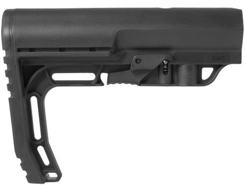 Mission First Tactical Battle Link Minimalist Stock.  Commercial size.  Black.  TSE # 12881