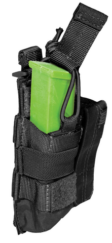 5.11 Tactical Double Pistol Bungee w Cover Mag Pouch.