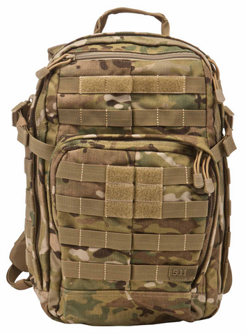 5.11 Tactical Rush 24 Back Pack.  Multicam. #14308