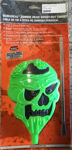 Champion Targets DuraSeal Zombie Head Target.  TSE # 14627.