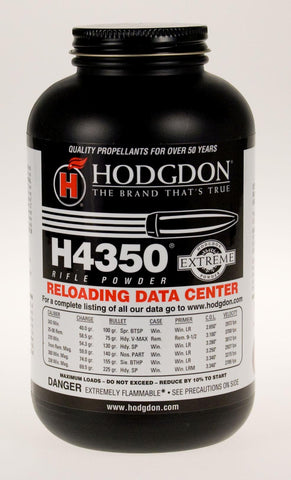 Hodgdon Powder Co. H4350 1 lb, smokeless TSE#1486 The Shooting Edge Calgary Alberta
