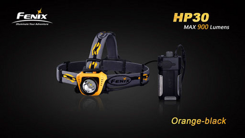 Fenix HP30 Headlamp 900 lumens - Iron Grey.  TSE # 15371.