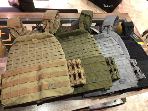 5.11 Tactical TacTec Plate Carrier. For more information contact The Shooting Edge, Calgary Alberta.