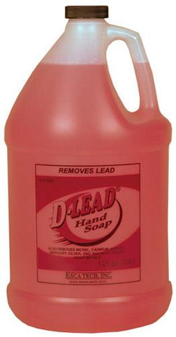 Esca Tech D-Lead Hand Soap.  Case of 4x 3.8L Bottles. TSE#1588 The Shooting Edge Calgary Alberta