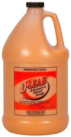 Esca Tech D-Lead Soap Abrasive Hand Case of 4x1 Gallon Bottles 4229ES-4 TSE#1595 The Shooting Edge Calgary Alberta