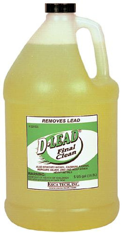 Esca Tech D-Lead Soap Final Clean Case of 4x1 Gallon Bottles TSE#1602 The Shooting Edge Calgary Alberta