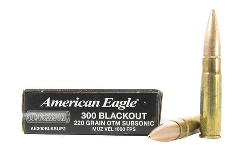 American Eagle 300 Blackout 220gr 20 Rounds Box