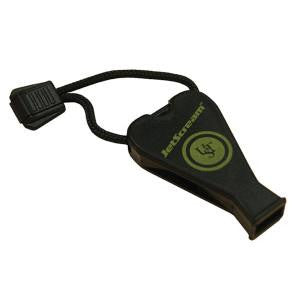 UST JetScream Floating Whistle - Black.  TSE # 16915.