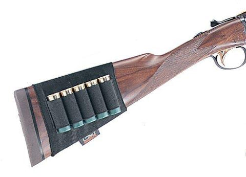 Uncle Mike's Shotgun Buttstock Shell Holder, 5 Loops TSE#17120 The Shooting Edge Calgary Alberta
