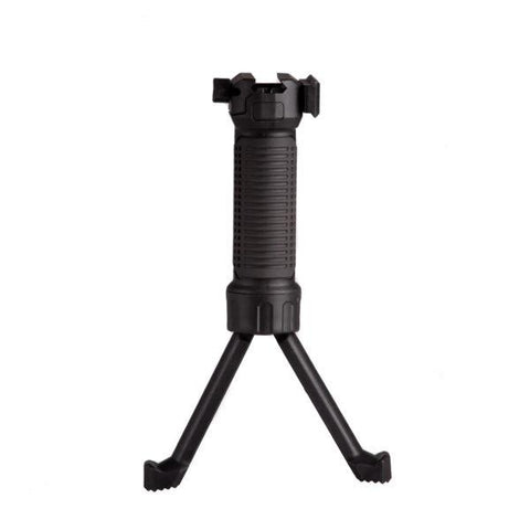 IMI Black Enhanced Bipod Foregrip. TSE# 17458
