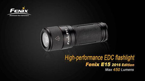 Fenix E15 2016 Edition Flashlight