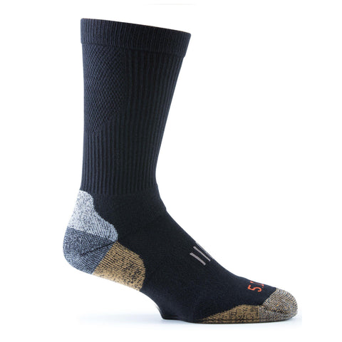 5.11 Year Round Crew Sock The Shooting Edge