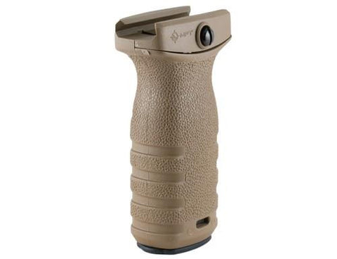 Mission First Tactical React Short Grip - Dark Earth.  TSE # 17793.