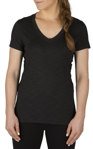 5.11 Tactical Women's Zig Zag V Neck Tee Shirt